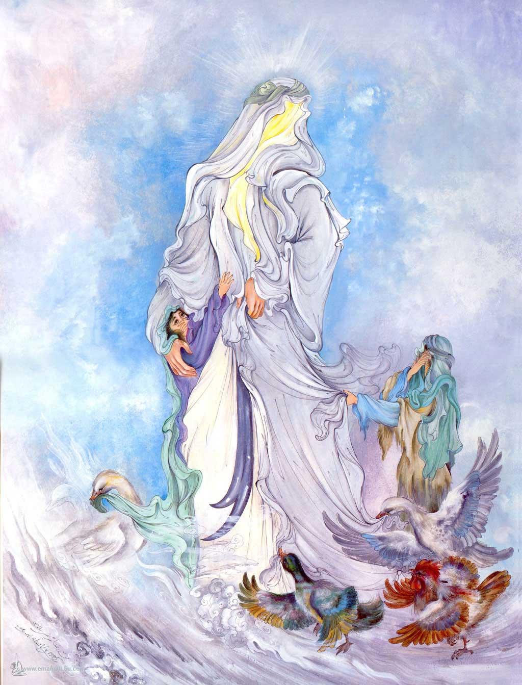 مینیاتور زیبای حضرت علی علیه السلام